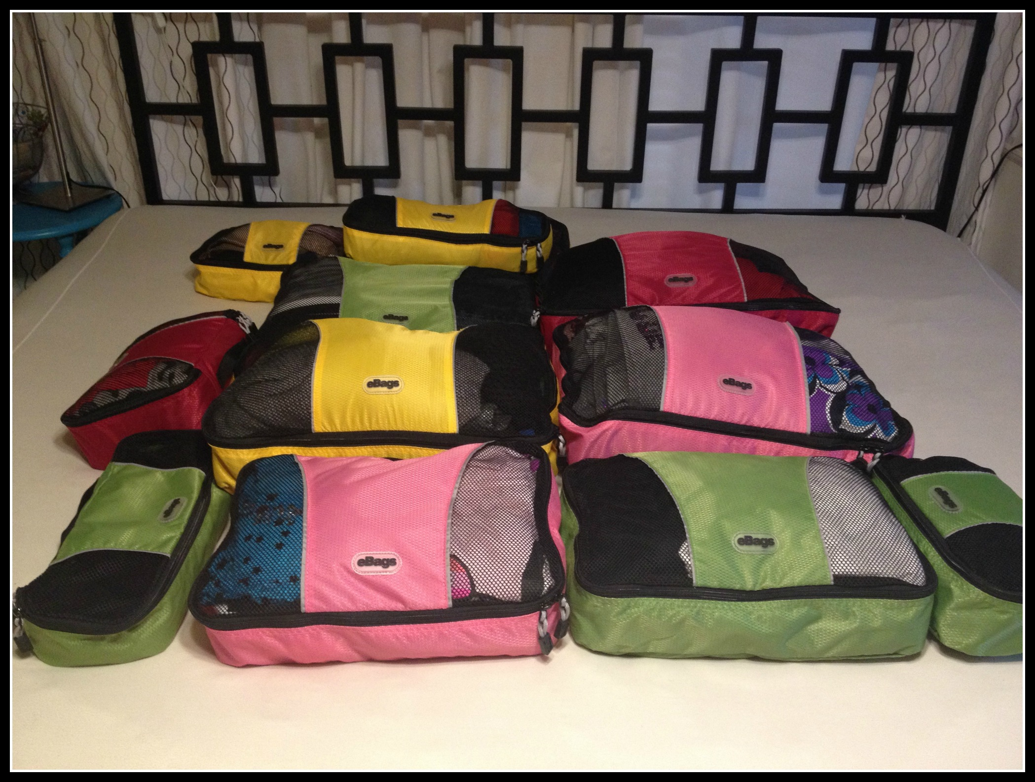 Ebags Review – Handy Travel Cubes
