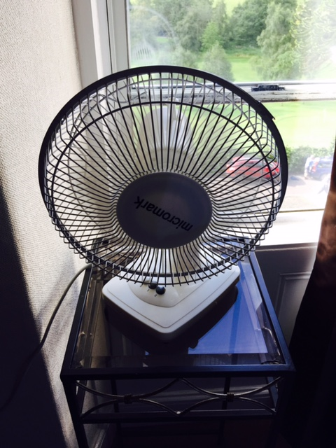 A Nice Little Fan is Something Each Bed and Breakfast Bedroom Needs