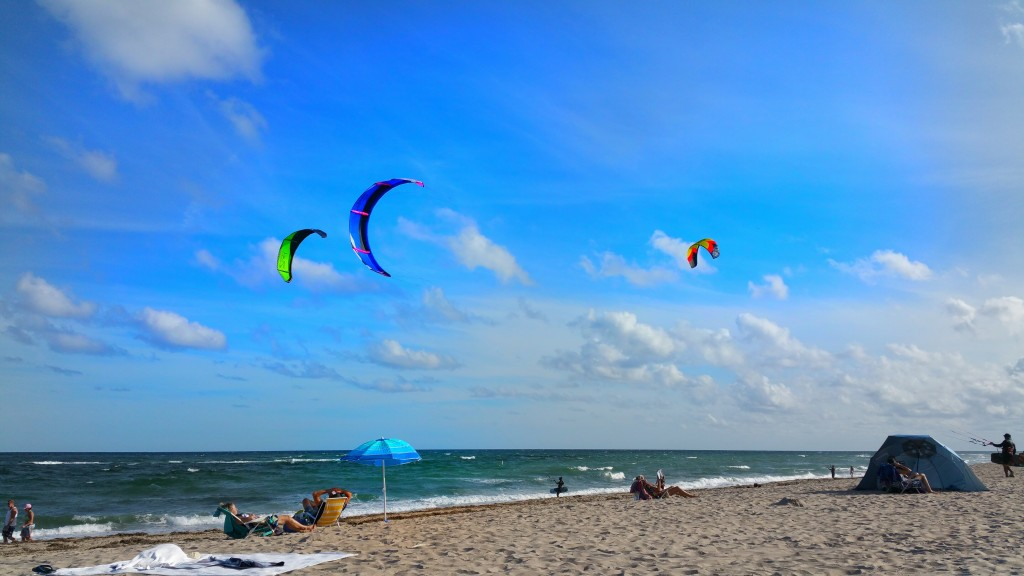 Kite Surfing, Ft. Lauderdale, Beaches