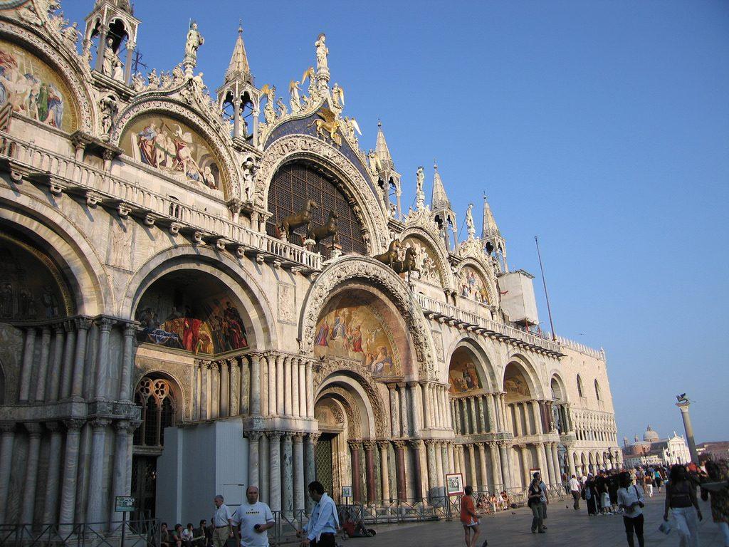 City of Venice St. Mark's Basilica