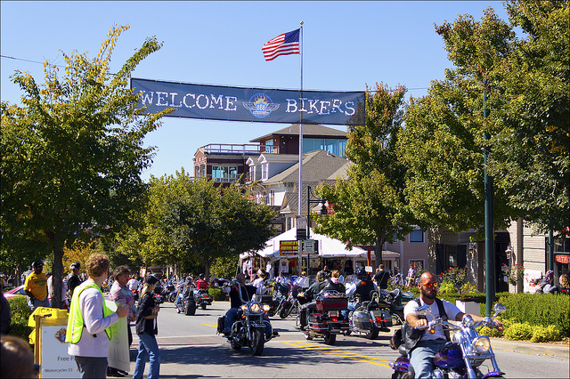 Bikes, Blues And BBQ, A Great Motorcycle Rally