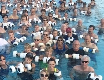 Water Aerobics: Splash On In, The Water Is Calling