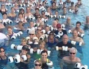 Water Aerobics: Splash On In, The Water Is Calling
